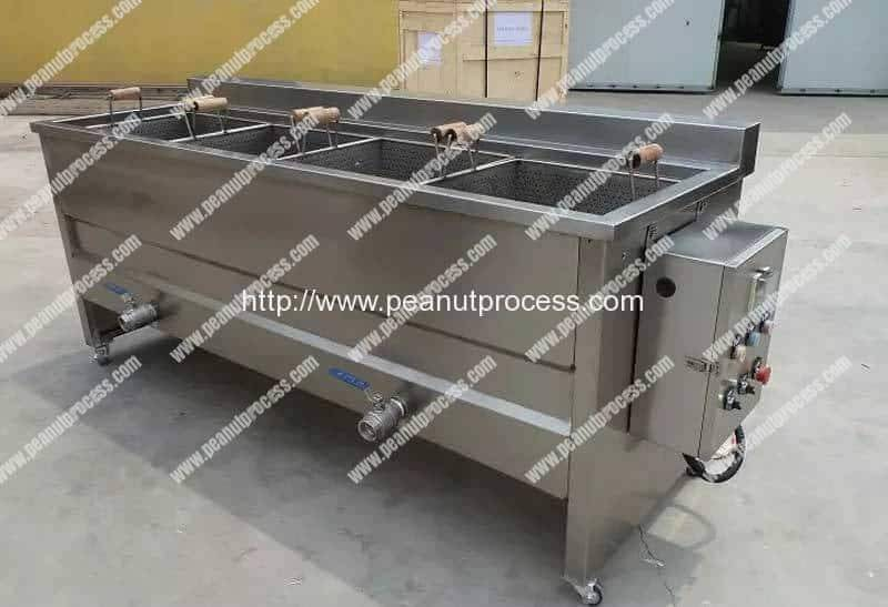 Manual Type Peanut Frying Machine for Sale
