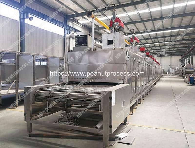 Multi-Functional-Continuous-Peanut-Machine