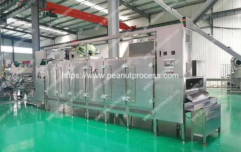 Multi-Functional-Continuous-Peanut-Roaster-Machine