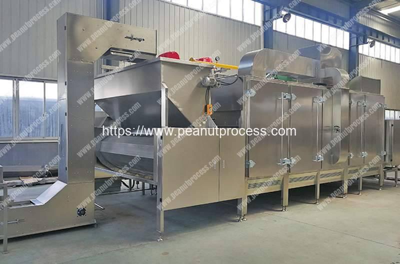 Multi-Functional-Continuous-Peanut-Roasting-Machine