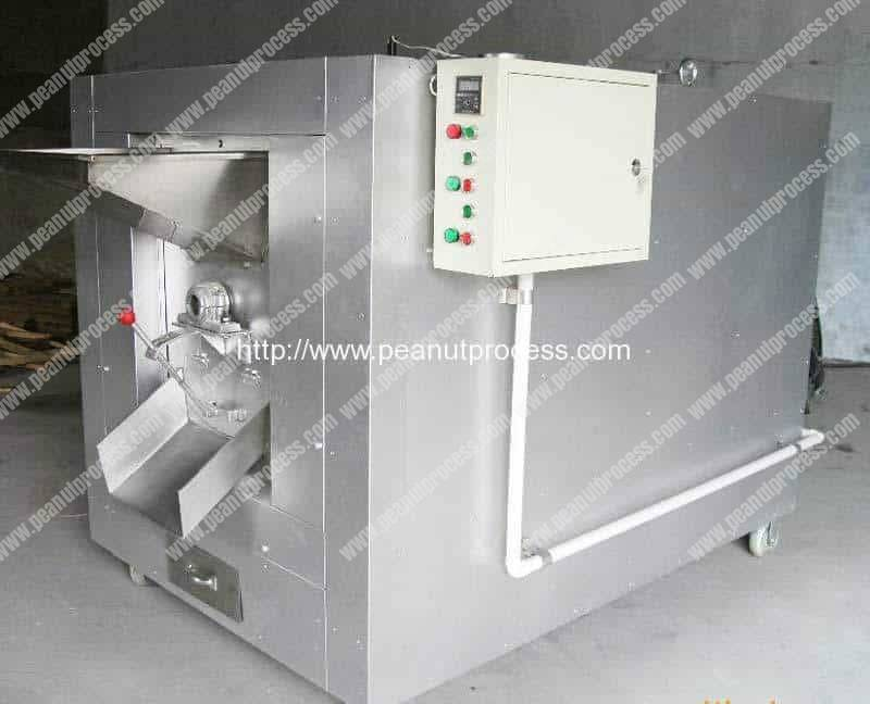 Industrial-Type-Peanut-Roasting-Machine-with-Automatic-Discharge-Function