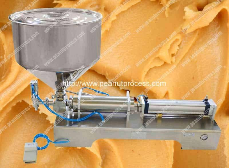 Semi-Automatic Peanut Butter Filling Machine