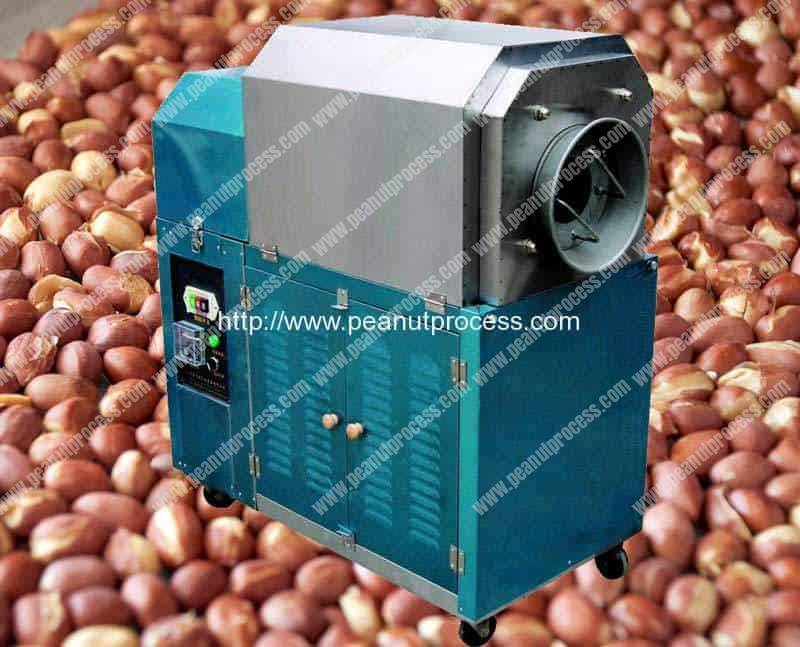 Small Electromagnetic Heating Peanut Roasting Machine
