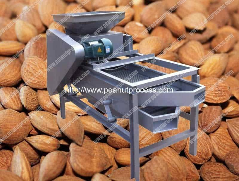 Automatic Almond Nut Cracking Machine