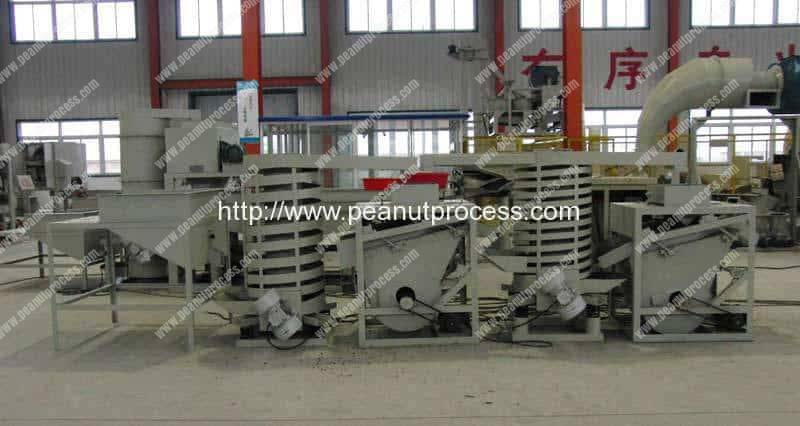 Automatic Almond Cracking and Separating Machine