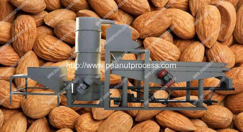 Automatic Almond Shell and Kernal Separating Machine
