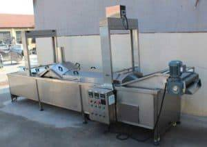 Automatic-Electric Heating Full Automatic Frying machine