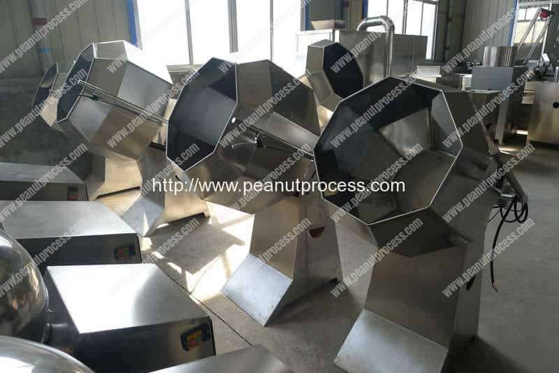 Automatic Peanut Flour Coating Machine Supplier