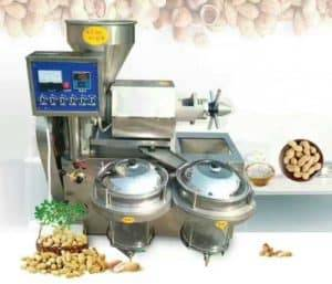 Automatic Peanut Oil Pressing Machine with Vacuum Filter
