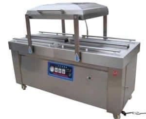 Double-Chamber-Vacuum-Packing-Machine