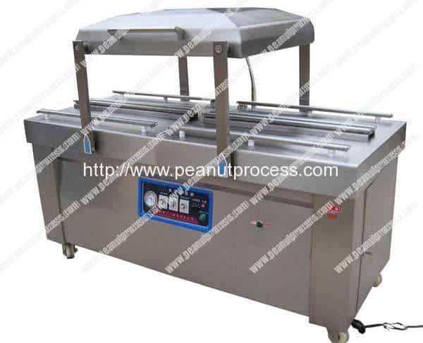 Double Chamber Peanut Vacuum Packing Machine