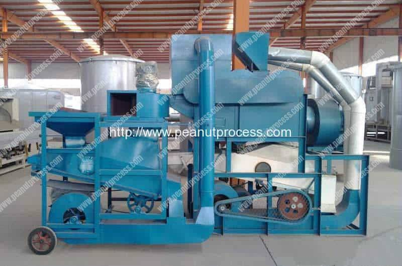 Automatic Peanut Shelling and Cleaning Machine for Sale