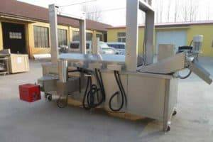 Natural Gas Fired-Frying Machine
