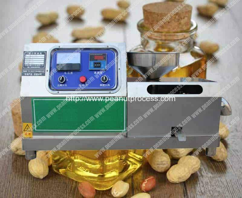 Automatic Peanut Oil Pressing Machine