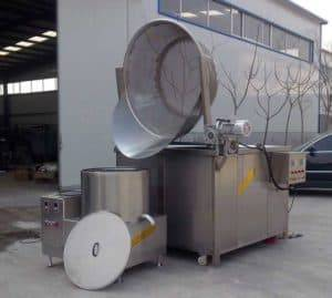 Semi-Automatic Peanut Frying Machine with Auto Discharge Function