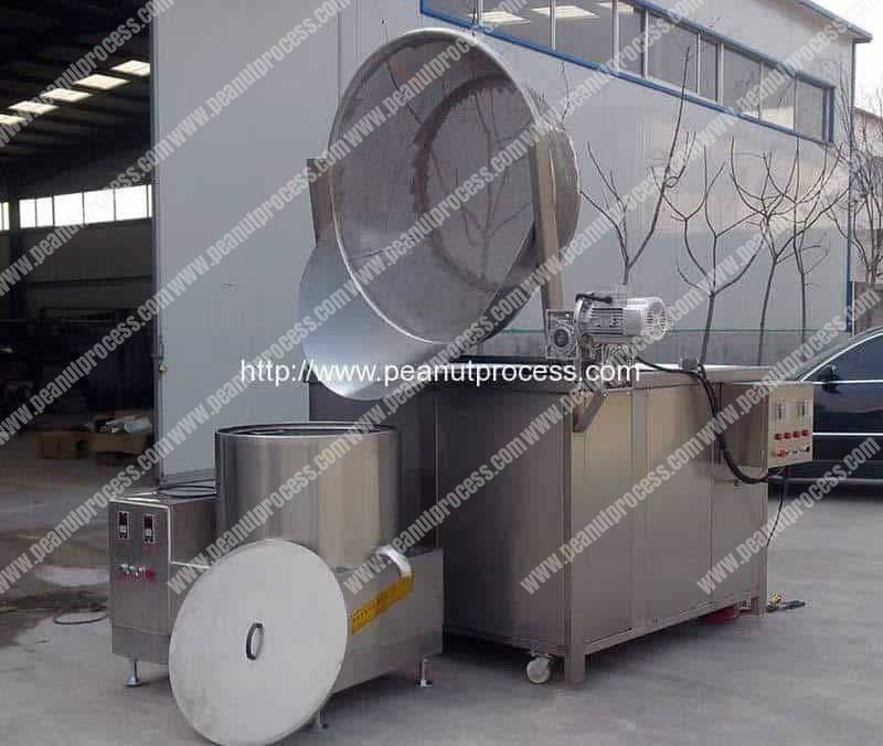 Automatic-Discharge-Type-Peanut-Frying-Machine