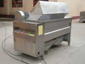 Automatic-Discharge-Type-Semi-Automatic-Peanut-Frying-Machine