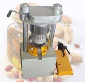Domestic Hydraulic Peanut Oil Pressing Machine