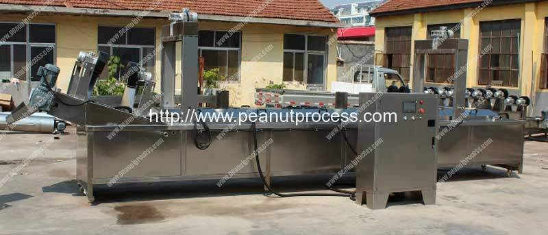Electric-Heating-Peanut-Frying-Machine-with-Oil-Seprating-Function