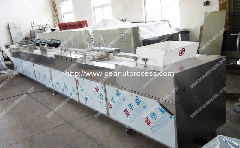 Full-Automatic-Peanut-Candy-Forming-and-Cutting-Machine