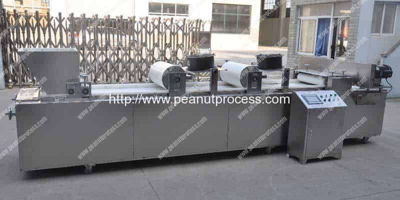 Full Automatic Peanut Candy Forming and Cutting Machine