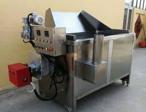 Semi-Automatic-Discharge-Natural-Gas-Frying-Machine-for-Sale