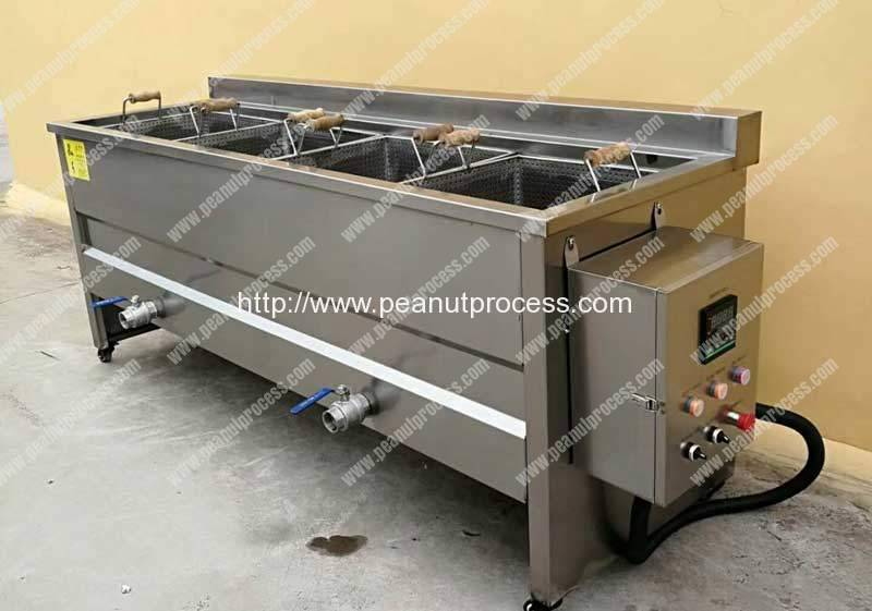 Semi-Automatic Peanut Frying Machine