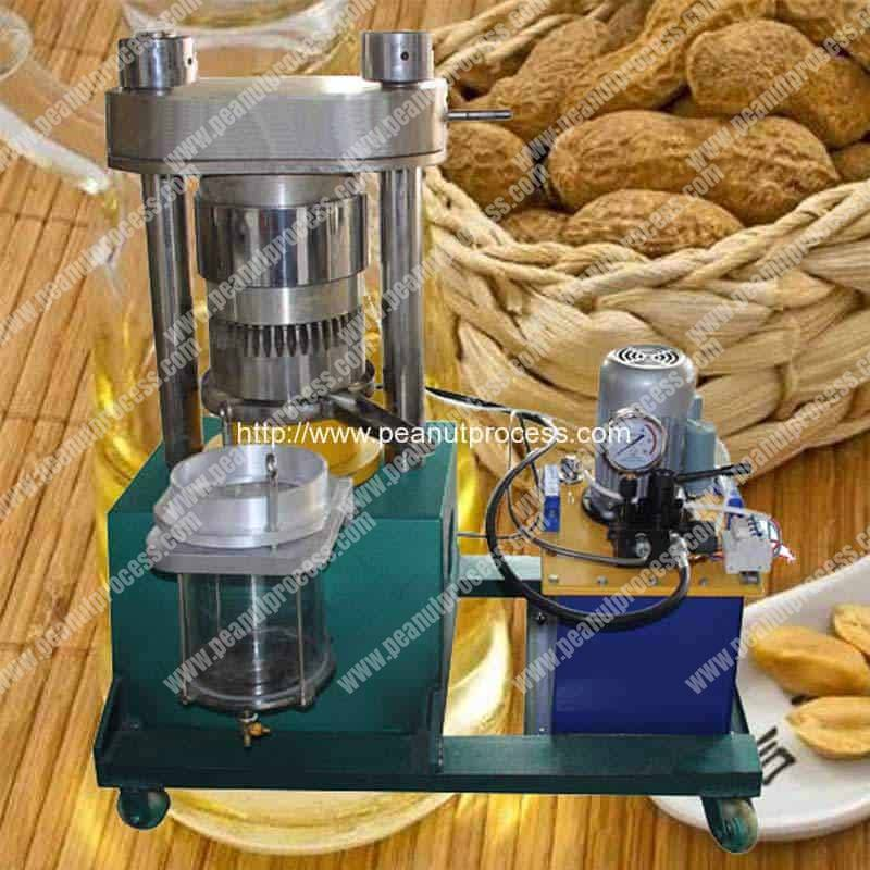 Semi-Automatic-Peanut-Oil-Hydraulic-Pressing-Machine