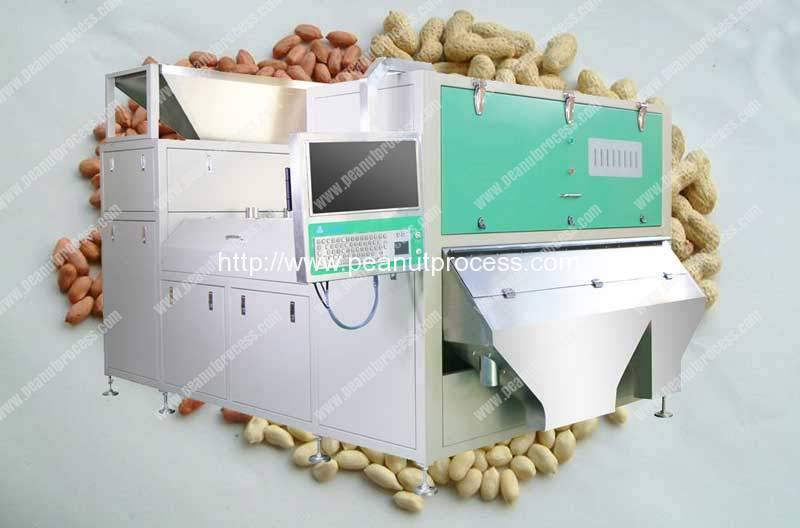 Automatic Peanut Color Sorting Machine