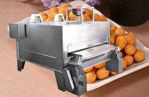Automatic Flour Coated Peanut Roasting Machine