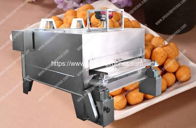 Flour-Coated-Peanut-Swing-Roaster-Machine