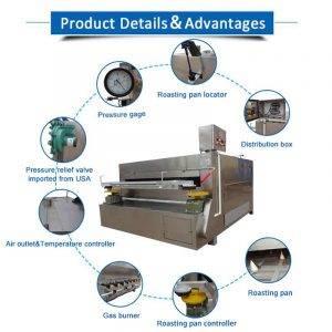 Flour-Coated-Peanut-Swing-Roasting-Machine
