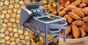 Full Automatic Walnut Cracker and Grading Separating Machine