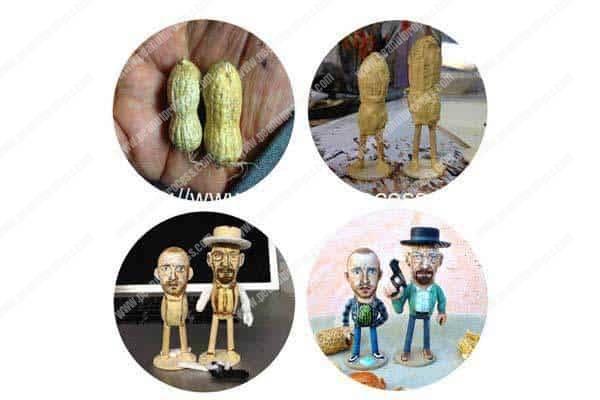 Artist Paints Celebrities on Peanuts!