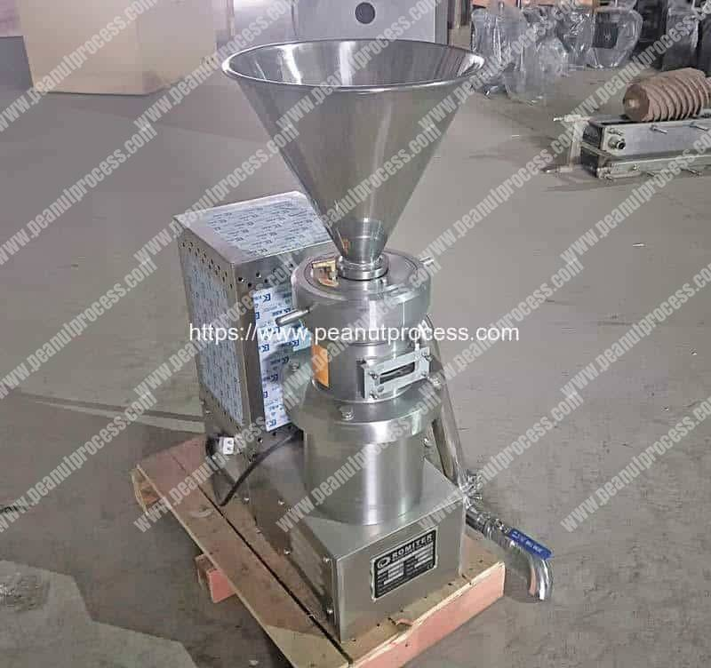 Automatic-Peanut-Butter-Grinder-for-Greece-Customer