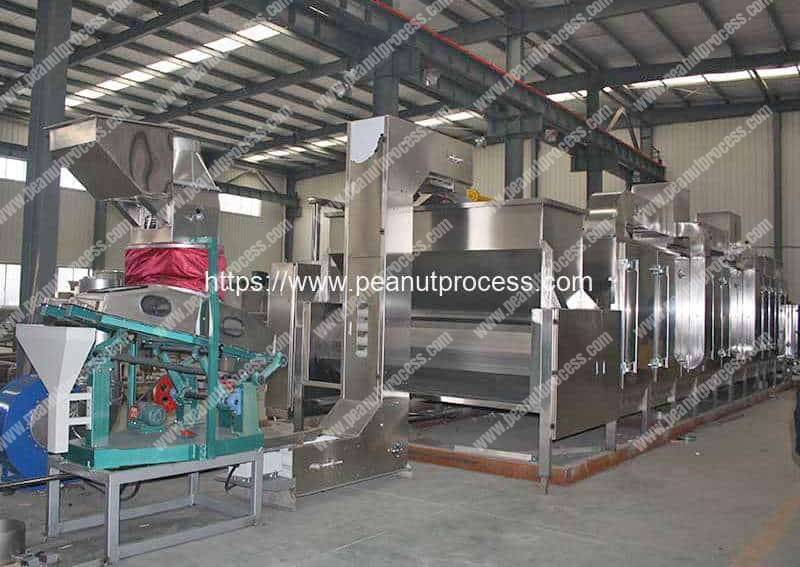 Automatic-Blanched-Peanut-Kernal-Production-Line