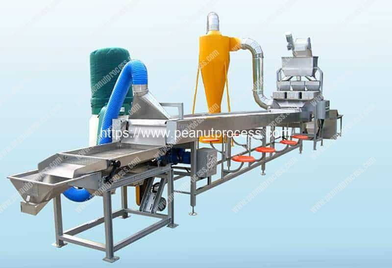 Automatic-Blanched-Peanut-Making-Machine