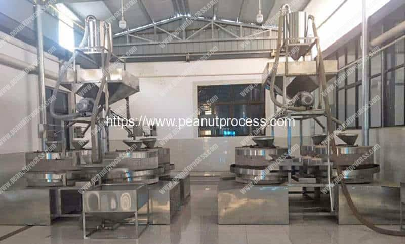Automatic-Peanut-Butter-Stone-Mill-Plant