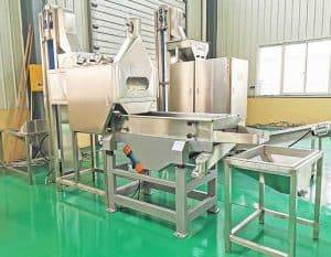 Automatic Peanut Splitting and Blanching Machine