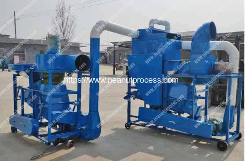 Peanut-Destoner-Connect-to-Peanut-Shelling-Machine