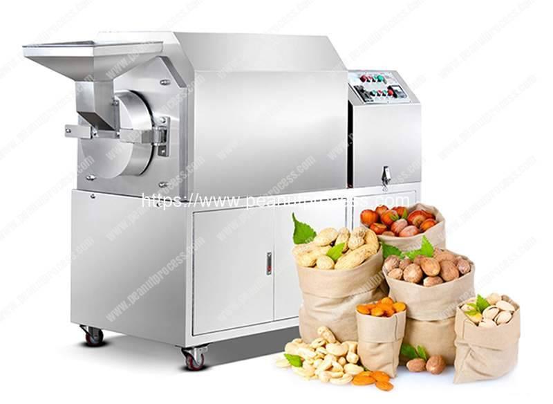 Stainless-Steel-Peanut-Roasting-Machine