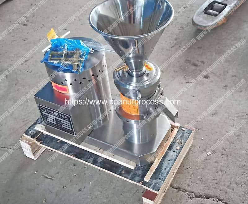 Small-Peanut-Butter-Grinder-Delivery-for-Sudan-Customer
