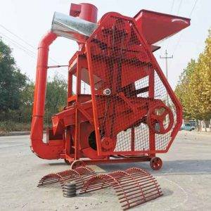 Automatic Peanut Cleaning and Shelling Machine