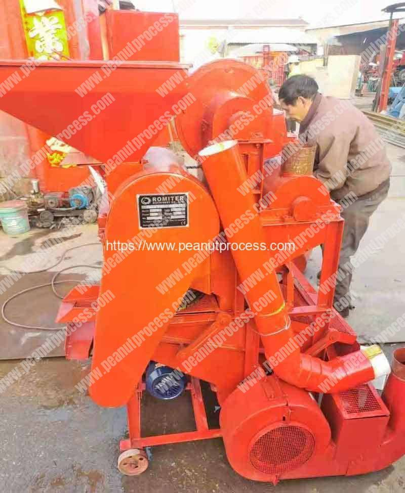 Small-Peanut-Shelling-Machine-for-Burkina-Faso-Customer