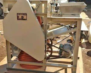 Wet Type Peanut Peeling Machine for Ivory Coast Customer