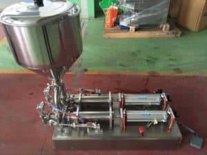 Semi-Automatic-Double-Head-Peanut-Butter-Filling-Machine