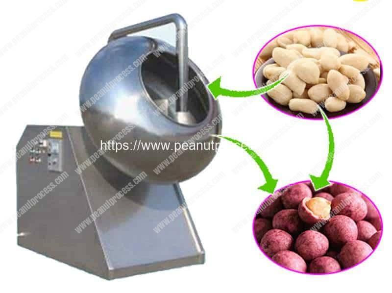 Automatic-Peanut-Flour-Coating-Machine