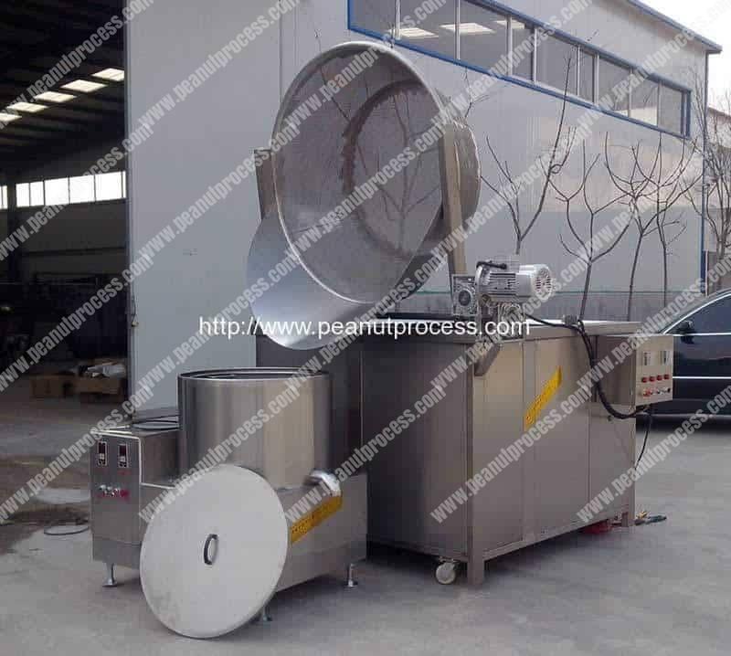Sem-Automatic-Peanut-Frying-Machine