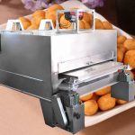 Automatic Flour Coated Peanut Roasting Machine