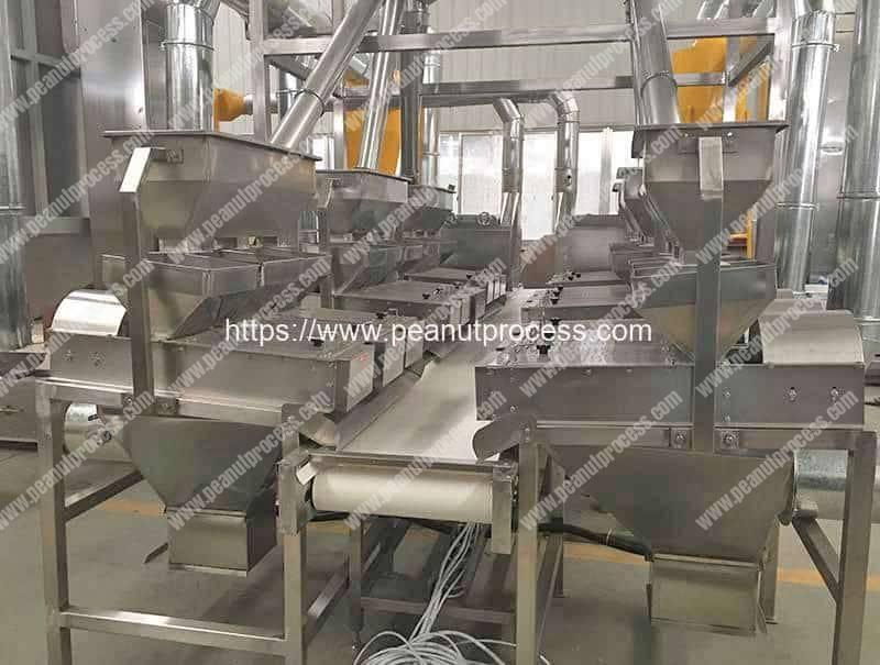 Automatic-Peeled-Peanut-Production-Line